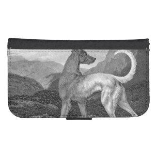 アイルランドのグレイハウンド犬 ウォレットケース