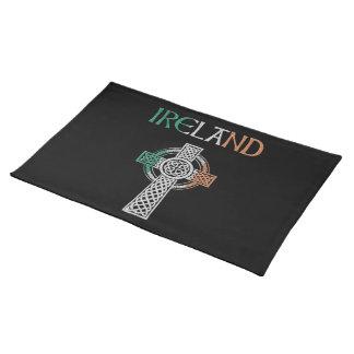 アイルランドのケルト十字のランチョンマット ランチョンマット