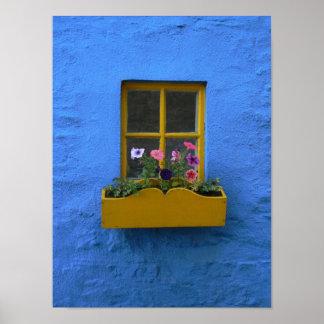 アイルランドのコテージWindowbox ポスター