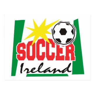 アイルランドのサッカーのギフト ポストカード