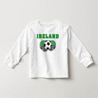 アイルランドのサッカーのフットボール トドラーTシャツ