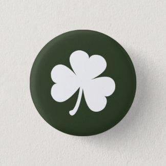 アイルランドのシャムロックとのハンター緑 缶バッジ