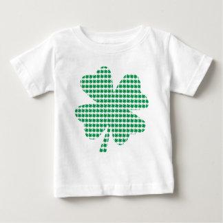 アイルランドのシャムロックのデザイン ベビーTシャツ