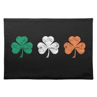 アイルランドのシャムロックのランチョンマット ランチョンマット