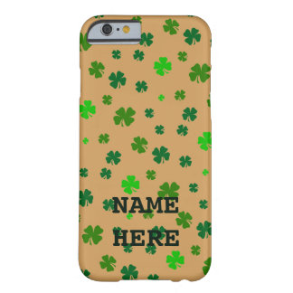 アイルランドのシャムロックの携帯電話カバー BARELY THERE iPhone 6 ケース