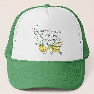 アイルランドのシャムロックの管の帽子 キャップ