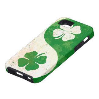 アイルランドのシャムロックの陰陽のiPhone 5の穹窖Tough™ iPhone SE/5/5s ケース