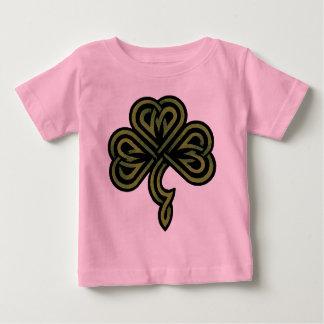 アイルランドのシャムロックのTシャツ ベビーTシャツ