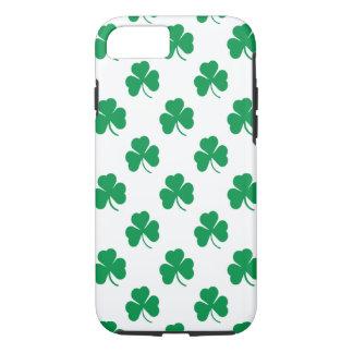 アイルランドのシャムロックパターン iPhone 8/7ケース