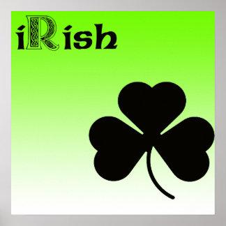 アイルランドのシャムロックポスター ポスター