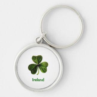 アイルランドのシャムロック- Keychain キーホルダー
