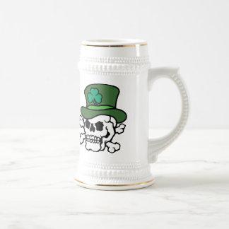 アイルランドのスカルステイン ビールジョッキ