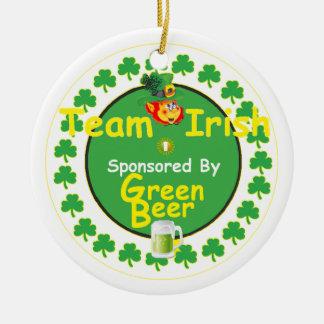 アイルランドのチームオーナメント セラミックオーナメント
