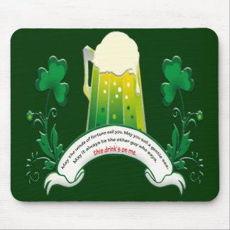アイルランドのトーストのマウスパッド マウスパッド