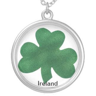 アイルランドのネックレス シルバープレートネックレス