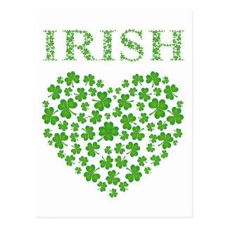 アイルランドのハート ポストカード
