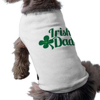 アイルランドのパパのSt patricks dayのアイルランド人のデザイン ペット服