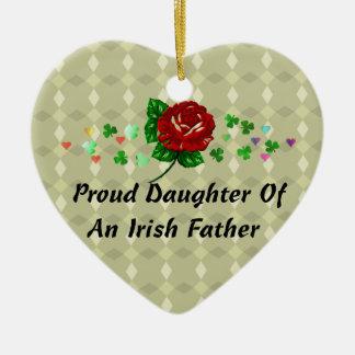 アイルランドのパパ セラミックオーナメント