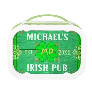 アイルランドのパブはあなた自身の名前入りな家のバーを作成します ランチボックス