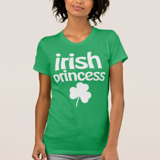 アイルランドのプリンセスSt patricks dayのワイシャツ Tシャツ