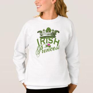アイルランドのプリンセスSt patricks dayのTシャツ スウェットシャツ