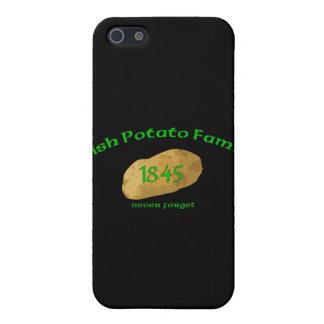 アイルランドのポテト飢饉1845年-決して忘れないで下さい iPhone 5 ケース