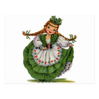 アイルランドの人形 ポストカード