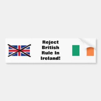 アイルランドの共和党のバンパーステッカー バンパーステッカー