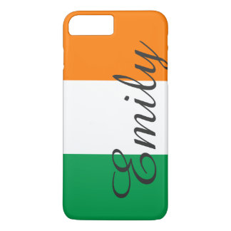 アイルランドの名前入りな一流の旗 iPhone 8 PLUS/7 PLUSケース