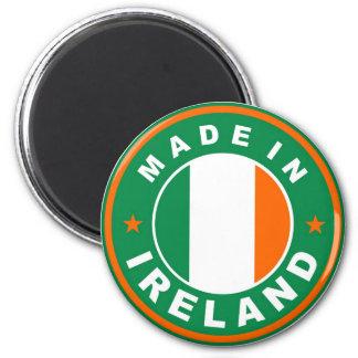 アイルランドの国旗プロダクトラベルで作られる円形に マグネット