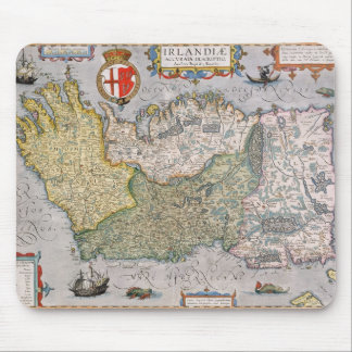 アイルランドの地図 マウスパッド