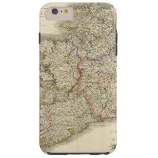 アイルランドの地図 TOUGH iPhone 6 PLUS ケース