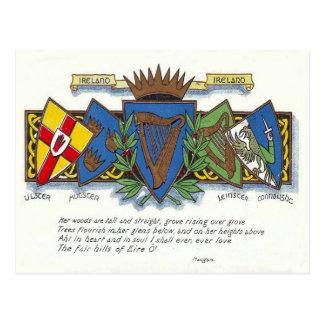 アイルランドの地域の郵便はがき ポストカード