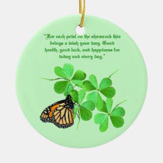 アイルランドの天恵のオーナメント セラミックオーナメント