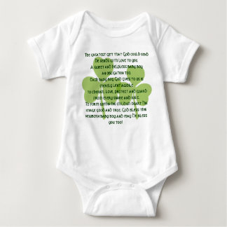 アイルランドの天恵のTシャツ-男の赤ちゃん ベビーボディスーツ