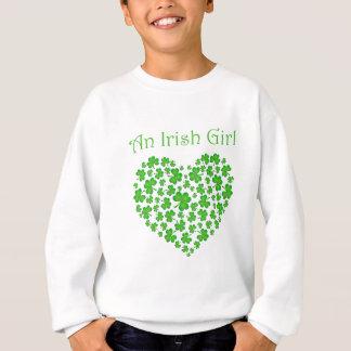 アイルランドの女の子 スウェットシャツ