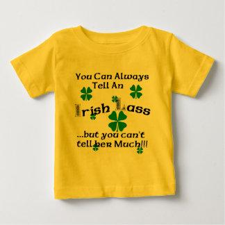 アイルランドの少女-…常に言うことができます ベビーTシャツ