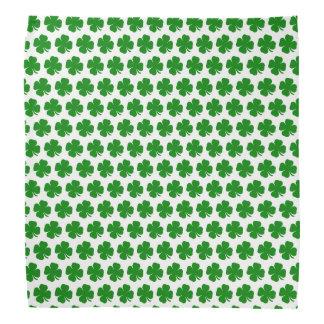アイルランドの幸運な緑のシャムロック バンダナ
