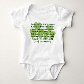 アイルランドの恵みのTシャツ- ベビーボディスーツ