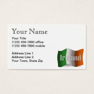 アイルランドの振る旗 名刺