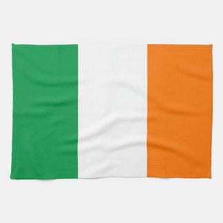 アイルランドの旗が付いている台所タオル キッチンタオル