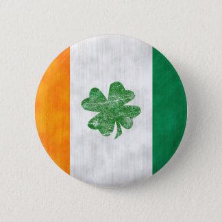 アイルランドの旗のシャムロックボタン 缶バッジ