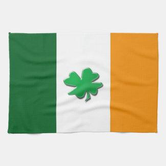 アイルランドの旗の台所タオル キッチンタオル