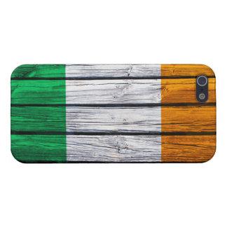 アイルランドの旗の素朴な木 iPhone SE/5/5sケース
