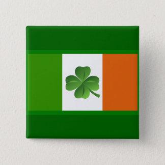 アイルランドの旗ボタン 缶バッジ
