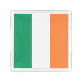 アイルランドの旗 アクリルトレー