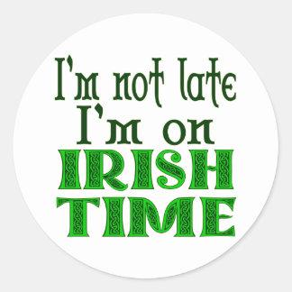アイルランドの時間のおもしろいなことわざ ラウンドシール