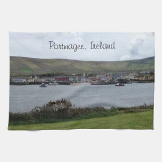 アイルランドの景色のPortmageeアイルランドの台所タオル キッチンタオル