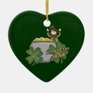 アイルランドの木びき台 セラミックオーナメント