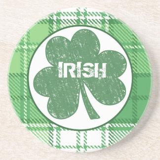 アイルランドの格子縞のコースター コースター